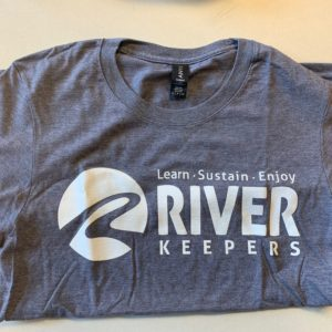 river keepers gray t-shirt