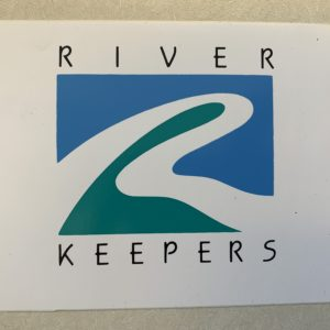 old river keepers logo bumper sticker
